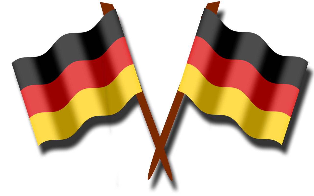 germany, flag, black red gold